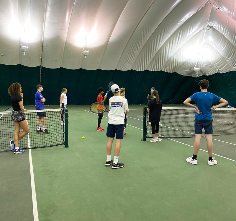 Under 18's Tennis Coaching